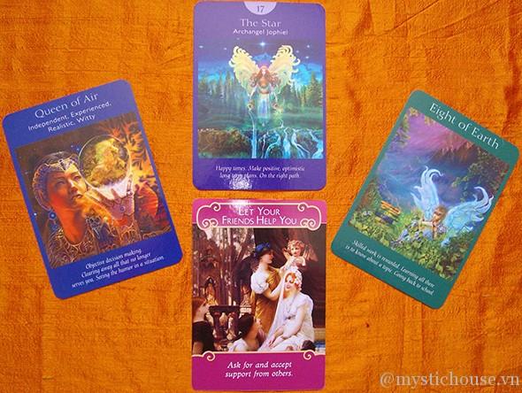 cảm nhận lá bài Angel Tarot Cards