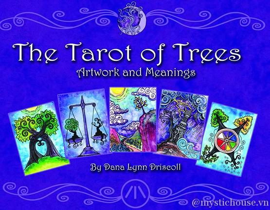 Sách Tarot of Trees   Bài Tarot gốc giá rẻ   Mystic Tarot Shop
