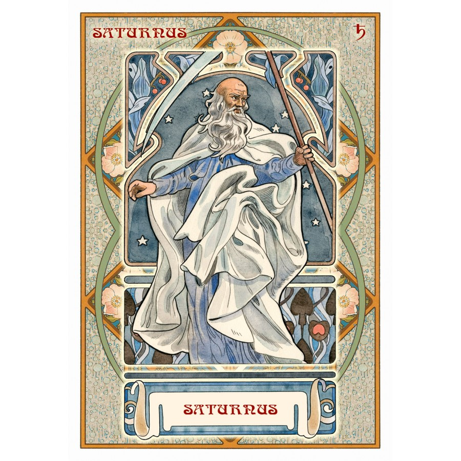 Astrological Oracle Cards (Lo Scarabeo) 3