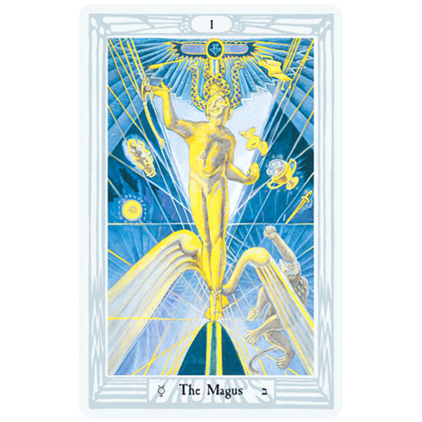 Aleister Crowley Thoth Tarot 2