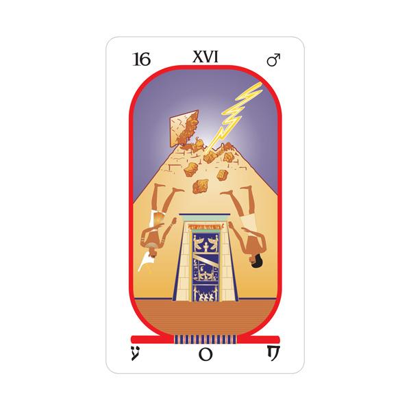 Brotherhood of Light Egyptian Tarot 5