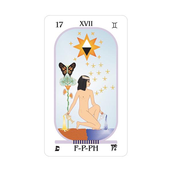 Brotherhood of Light Egyptian Tarot 6