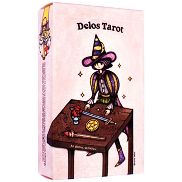 Delos Tarot cover