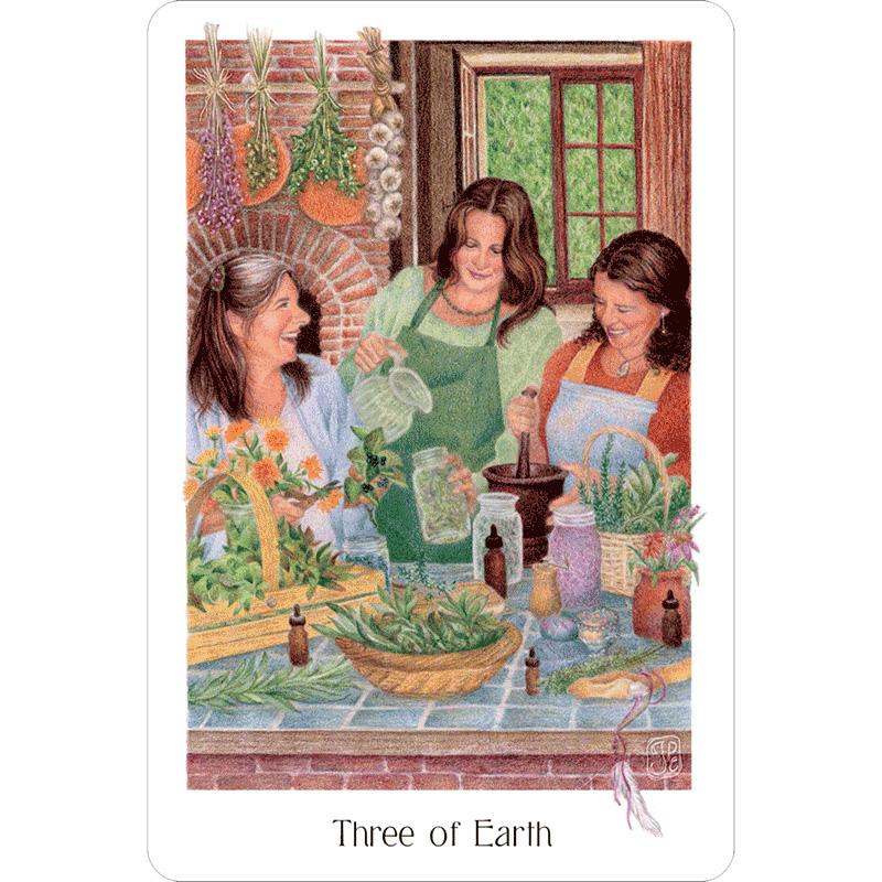 Gaian Tarot 5