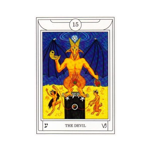 Golden Dawn Magical Tarot 8