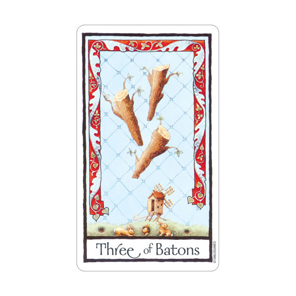 Old English Tarot 4