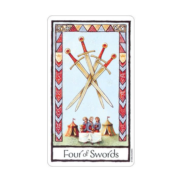 Old English Tarot 5