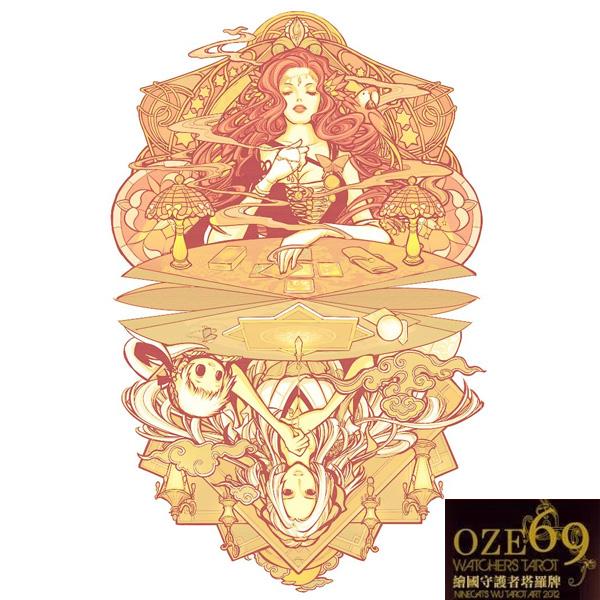 Oze69 Watchers Tarot