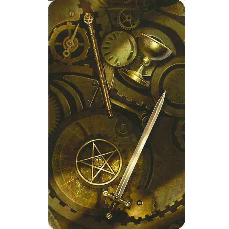 Steampunk Tarot 7