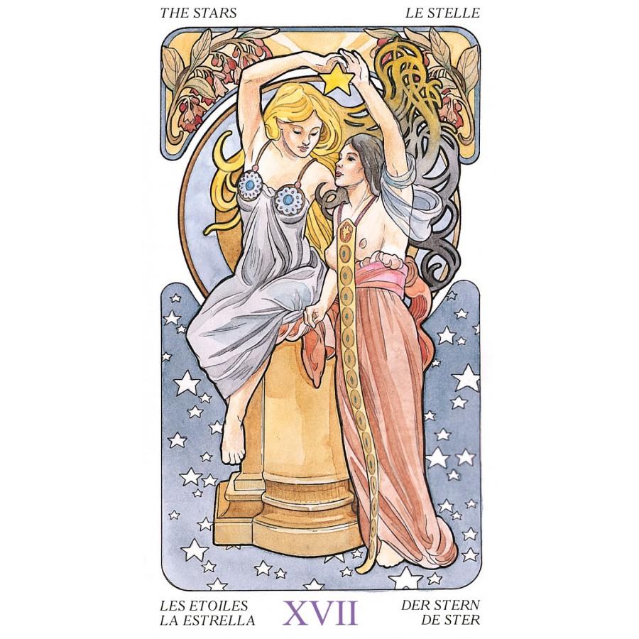 Tarot Art Nouveau 10