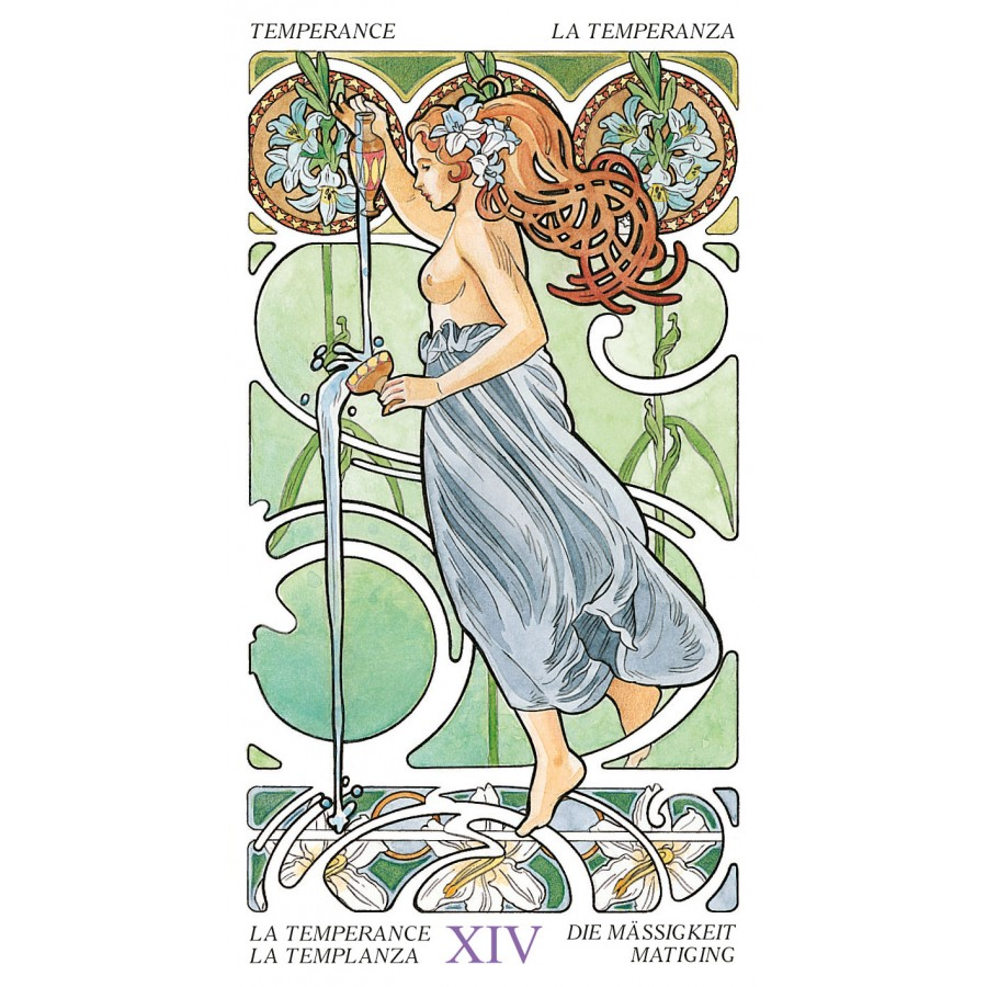 Tarot Art Nouveau 9