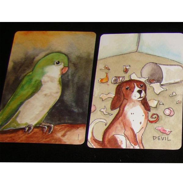 Blue Dog Rose Tarot 1