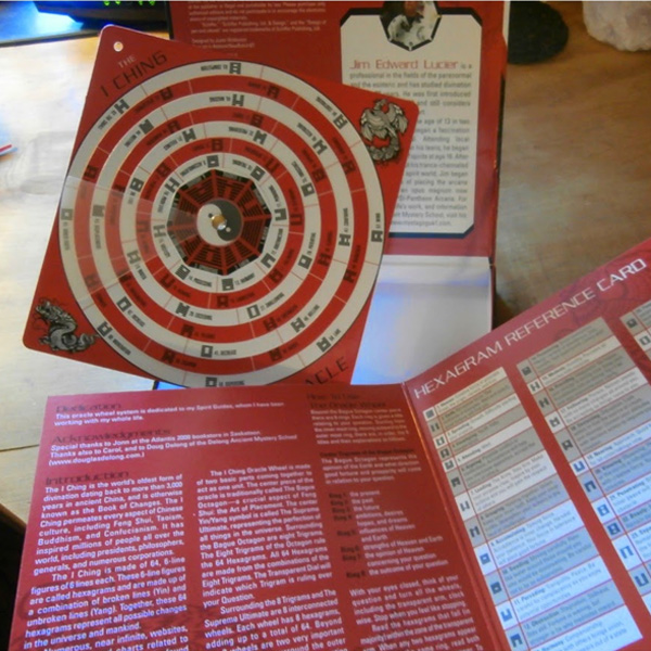 I Ching Oracle Wheel A Divination System 1