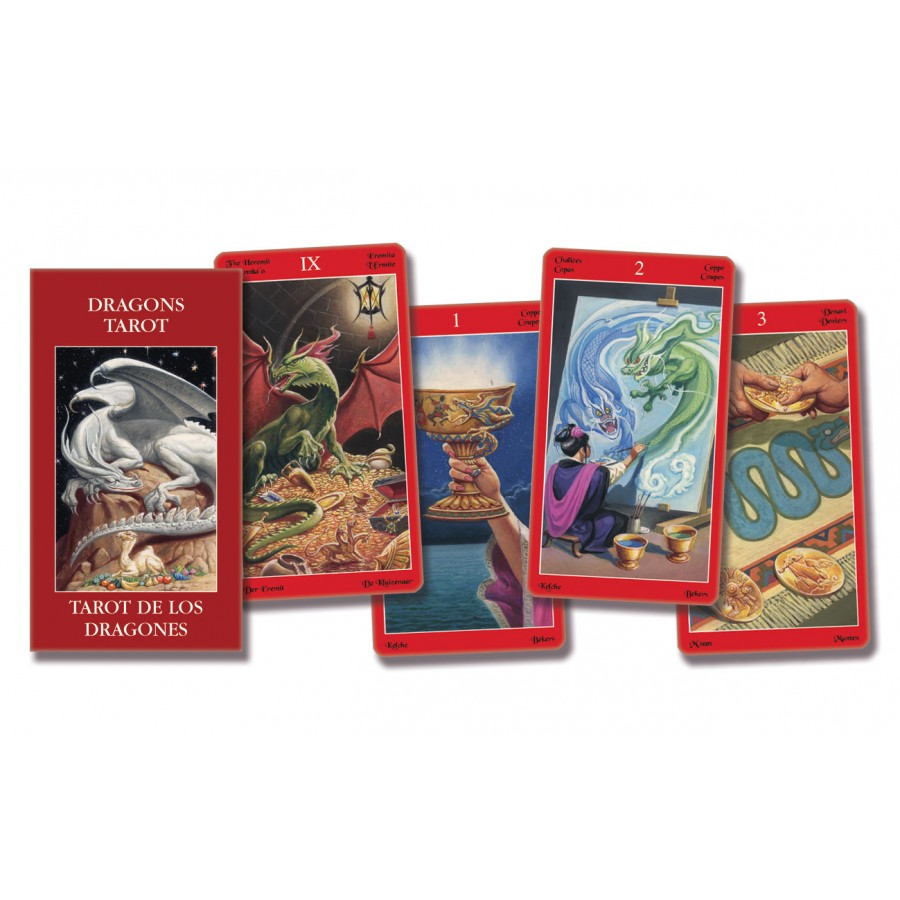 Dragons Tarot – Pocket Edition 1