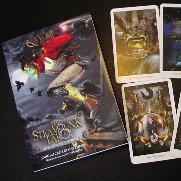 Steampunk Tarot – Wisdom from the Gods of the Machine 1