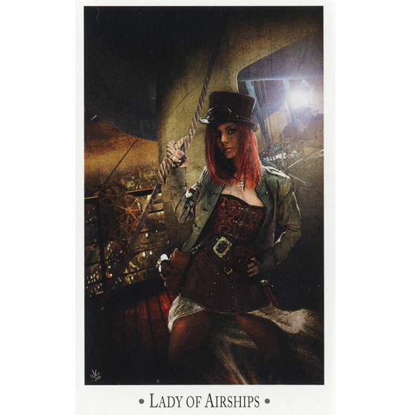 Steampunk Tarot – Wisdom from the Gods of the Machine 4
