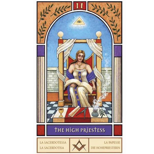 Masonic Tarot 3