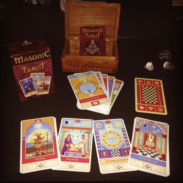 Masonic Tarot 8