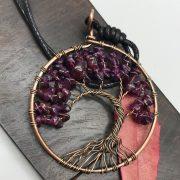 Mặt Dây Chuyền Tree of Life Amethyst 1