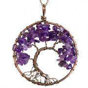 Mặt Dây Chuyền Tree of Life Amethyst 3