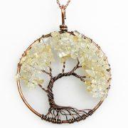 Mặt Dây Chuyền Tree of Life Citrine 1