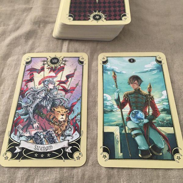 Mystical Manga Tarot 13
