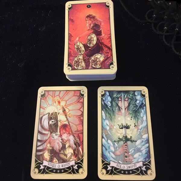 Mystical Manga Tarot 14