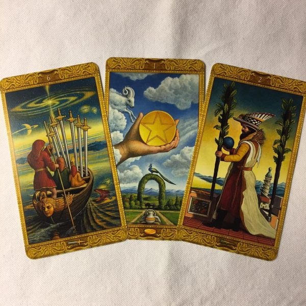 Mystical Tarot 10