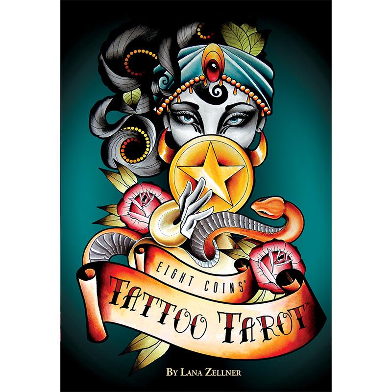 Eight Coins Tattoo Tarot 1