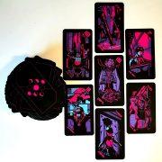 Neon Moon Tarot 12