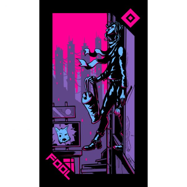 Neon Moon Tarot 2