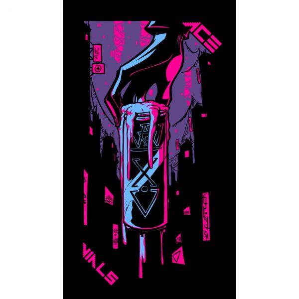 Neon Moon Tarot 7