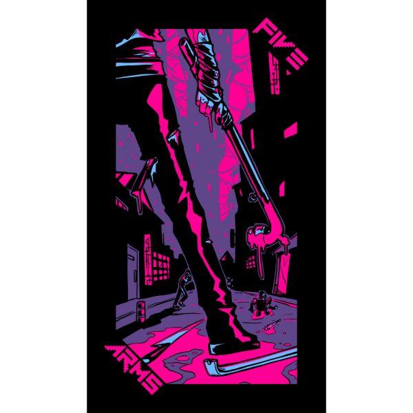 Neon Moon Tarot 9
