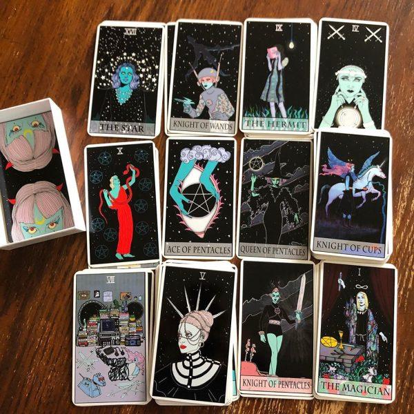 Moon Power Tarot 8