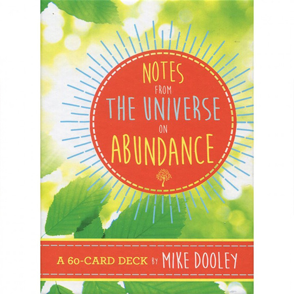 Notes from the Universe on Abundance Cards 1