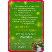 Notes from the Universe on Abundance Cards 2