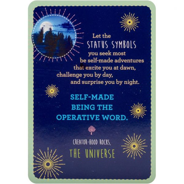 Notes from the Universe on Abundance Cards 4