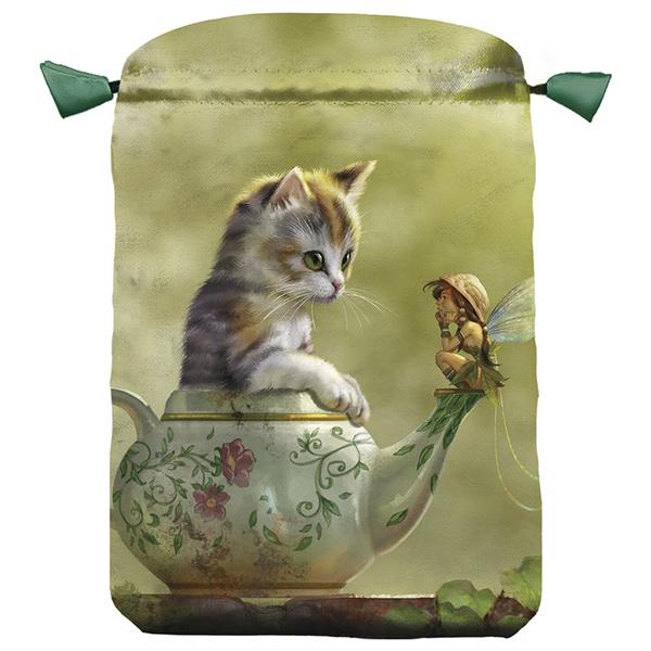 Fantasy-Cat-Satin-Bag